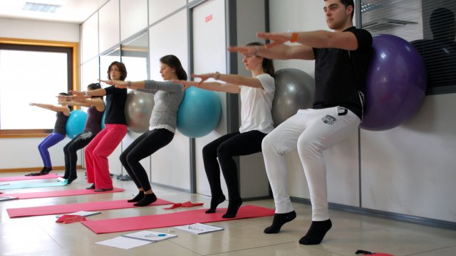 Classes de Pilates com bola - certificação APPI