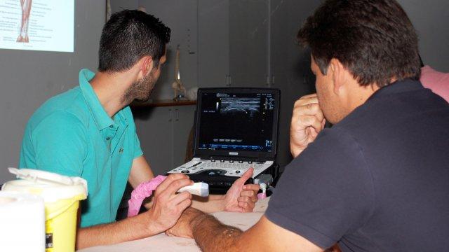 formação ecografia para fisioterapeutas