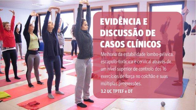 Pilates clinico Certificação Pilates Clinico Matwork APPI - Módulo MW3 (intermediate/ advanced)