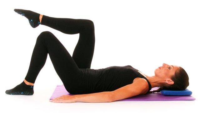 Curso Pilates pós Cirurgia da Coluna Vertebral - exercicio table top