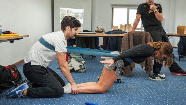 curso fisioterapia no joelho