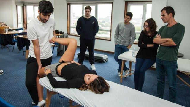curso rebilitação do joelho