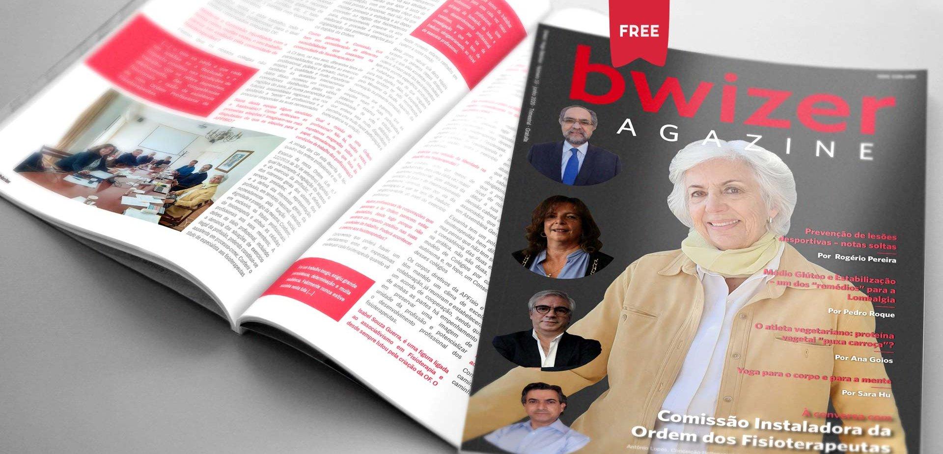 À conversa com Comissão Instaladora da Ordem dos Fisioterapeutas (Bwizer Magazine)