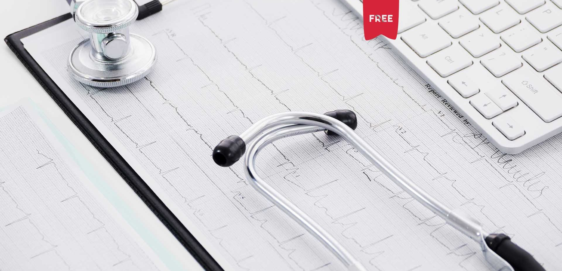 Eletrocardiograma (ECG) cardíaco normal