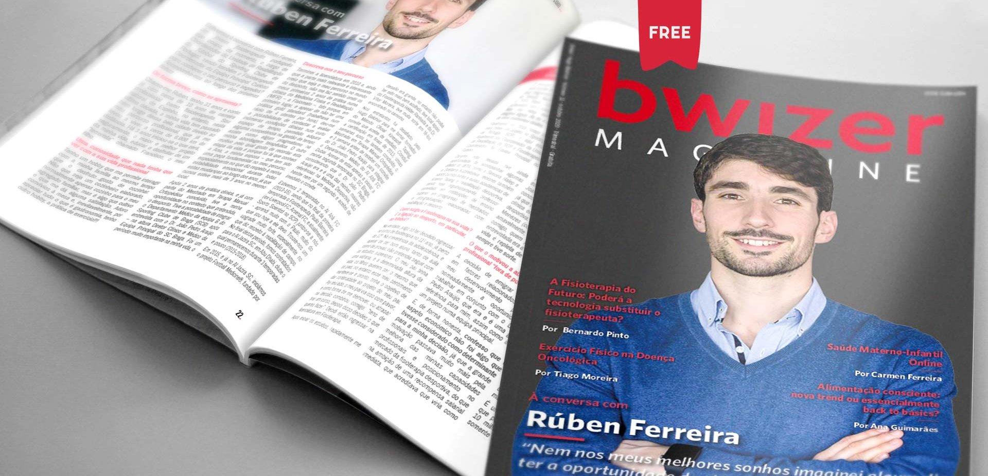 À conversa com Rúben Ferreira (Bwizer Magazine)