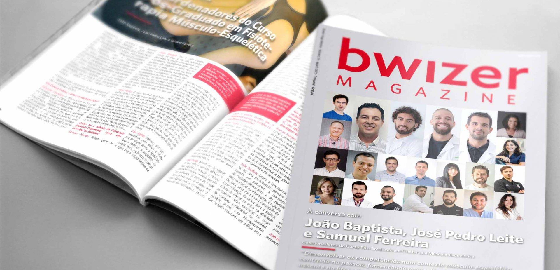 À conversa com Samuel Ferreira, João Baptista e José Pedro Leite (Bwizer Magazine)