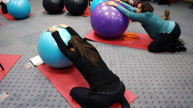 saúde materno-infantil - curso classes de exercício na gravidez e pós-parto