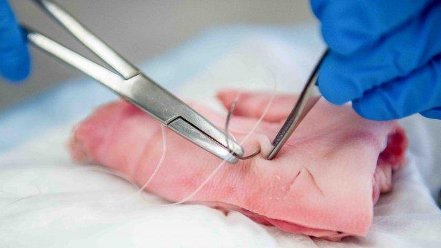 curso nó duplo de sutura