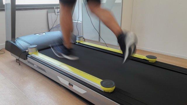 Avaliação da corrida