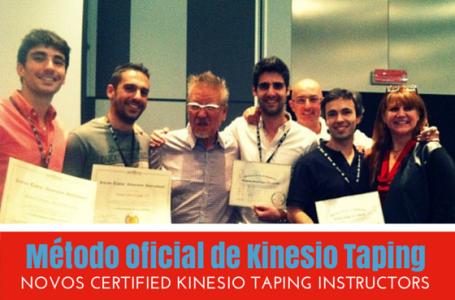 Método Oficial Kinesio® Taping | Novos CKTI Portugueses