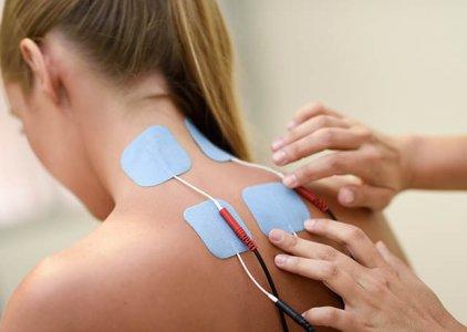 Eletroestimulação muscular para ativação neuromuscular após libertação dos trigger points