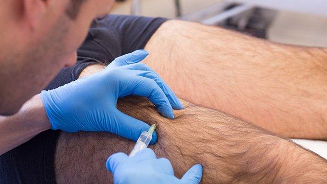 Mesoterapia Homeopática perna