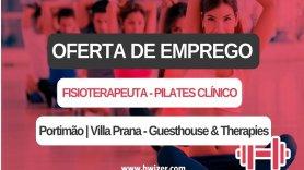 Oferta de emprego | Fisioterapeuta - Pilates Clínico (Portimão | Villa Prana - Guesthouse & Therapies)