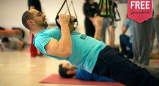 A ativação do tronco no treino em suspensão