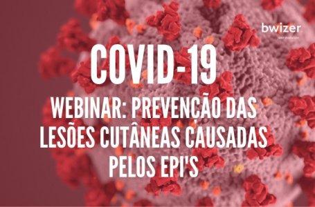 Webinar com Enf. Paulo Ramos: prevenção de lesões cutâneas causadas pelos Equipamentos de Proteção Individual (COVID-19)