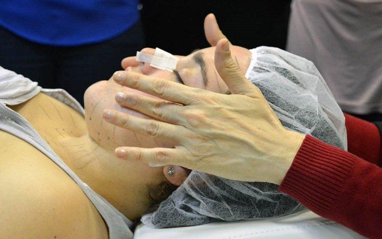 Fisioterapia Dermatofuncional: Lifting Facial