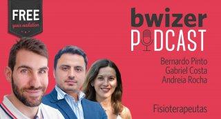Bwizer Podcast   Episódio 14: Andreia Rocha, Bernardo Pinto e Gabriel Martins da Costa