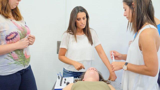 Eletropuntura aplicação
