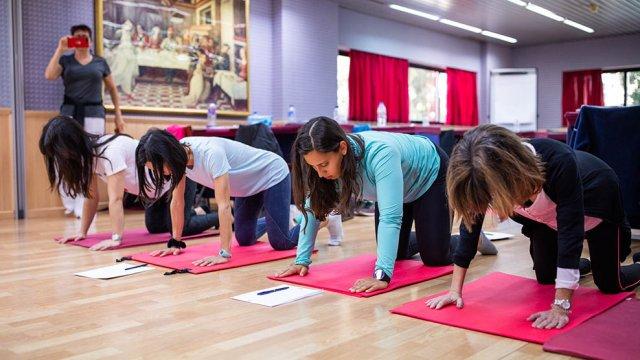 exercício pré e pós parto