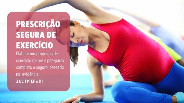 Exercicio no pré e pós parto - vantagens