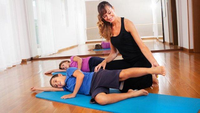Pilates para crianças para tratar disfunções posturais - certificação appi