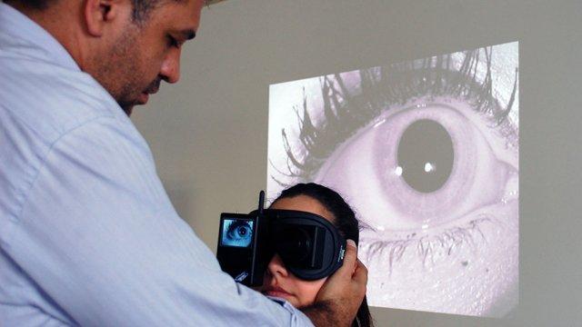 reabilitação vestibular - avaliação dos reflexos vestibulo-ocular (RVO)