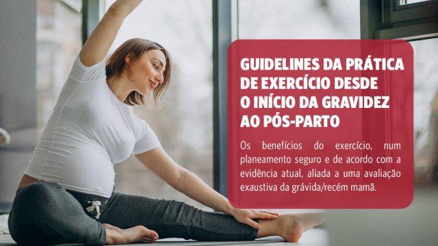 Curso Exercício Físico na Gravidez e no Pós-Parto