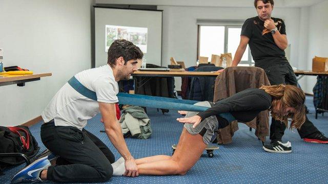 reabilitação do joelho