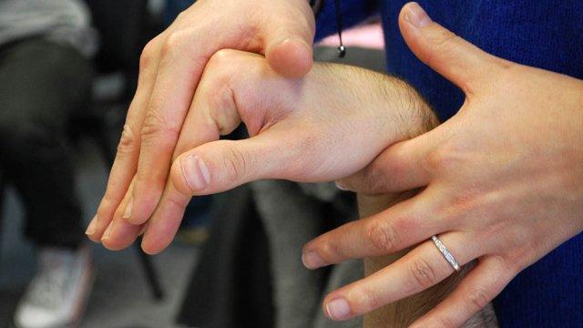 Avaliação da mão