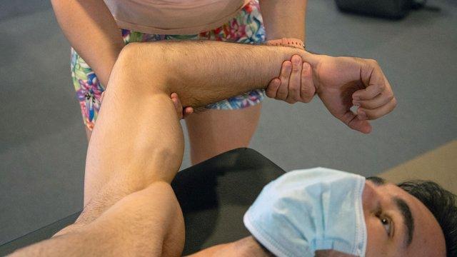 formação reabilitação do ombro
