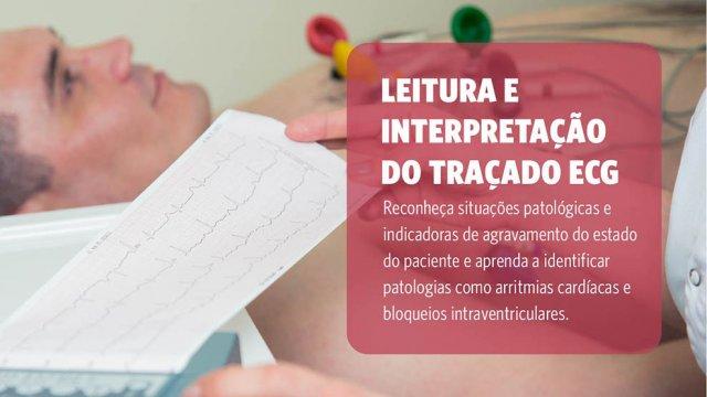 Argumento Curso ECG (eletrocardiografia) para enfermeiros